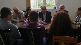 Цветанов в Разлог: Обстановката днес в България е много по-добра, отколкото беше през 2014 г. след управлението на БСП