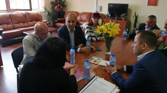 Цветан  Цветанов се срещна с кмета на Гърмен Минка Капитанова