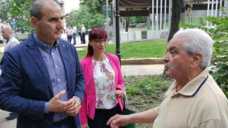 Цветанов разговаря с жители на Петрич. Ето какво научи той от тях (снимки)