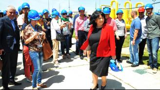 Теменужка Петкова ще открие модернизирания транзитен газопровод за Турция