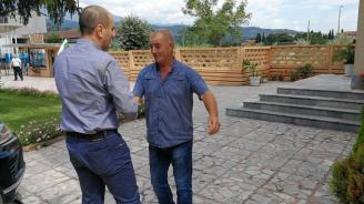 """Цветанов разговаря с изпълнителния директор на """"Енергоремонт"""" – Кресна"""