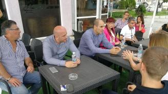 Цветан Цветанов се срещна с общинското ръководство на ГЕРБ - Кресна
