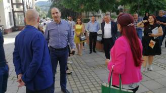 Цветанов в Симитли: Омразата в политиката не води до успех (снимки)