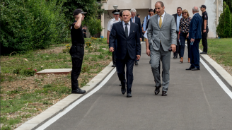 Парламентарната комисия по вътрешна сигурност проведе изнесено заседание в Академията на МВР (снимки)