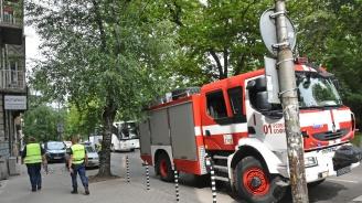Полицаи и пожарникари провеждат издирвателна акция по Канала (снимки)