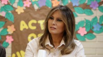 Мелания Тръмп е на границата с Мексико (снимки)