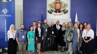 Бойко Борисов се срещна с руски журналисти (снимки)