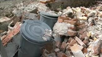 Огромна стена рухна в Стария град на Пловдив