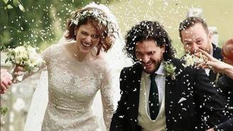"""Ожениха се звезди от """"Игра на тронове"""" (снимка)"""