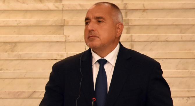 Премиерът Борисов поздрави Реджеп Тайип Ердоган за изборната победа