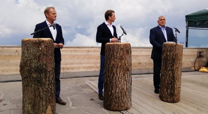 Борисов: Европа може да се защитава само когато е единна (видео+снимки)