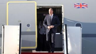 Принц Уилям пристигна в Израел (снимки)