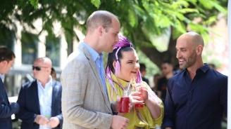 """Победителката на """"Евровизия"""" Нета Барзилай: Принц Уилям е наистина готин"""