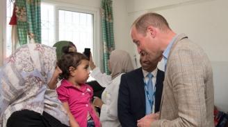 Принц Уилям посети палестинските територии и каза на хората там, че не са забравени (снимки)