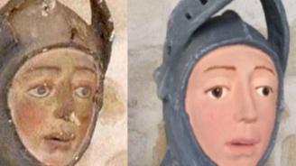 Средновековна статуя стана жертва на аматьорска реставрация (видео)