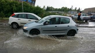 Силен дъжд наводни Шумен