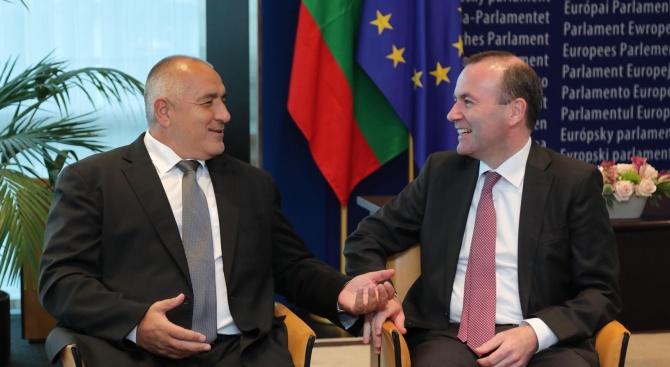 Бойко Борисов и Манфред Вебер обсъдиха резултатите от българското председателство на Съвета на ЕС