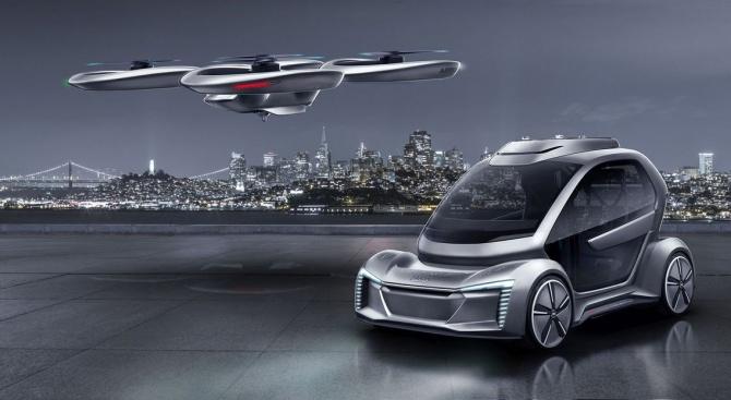 Audi се включва в проект за въздушни таксита в Инголщат