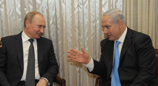 Нетаняху ще се срещне другата седмица с Путин в Москва