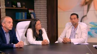 Андрей Едрев заби ваксина на д-р Атанас Мангъров в ефир (снимка)