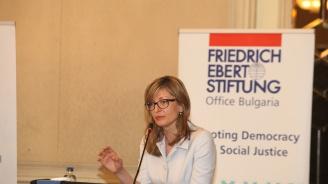 Захариева: Председателството превърна свой национален приоритет в общоевропейски (видео)