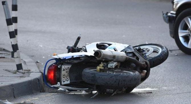 Зачестяват произшествията с мотористи на пътя