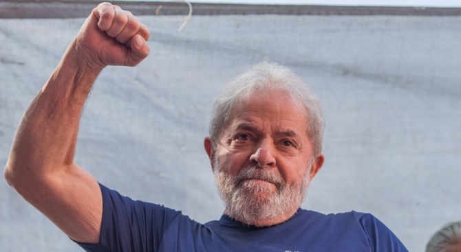 Бившият бразилски президент Луиз Инасио Лула да Силва трябва да
