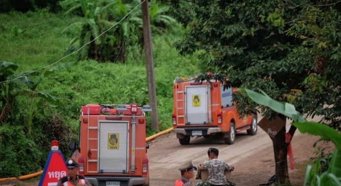 Пето момче е изведено от пещерата Луанг в Тайланд днес,