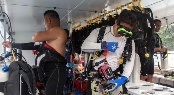 Водолаз разказа за спасителната операция в тайландската пещера