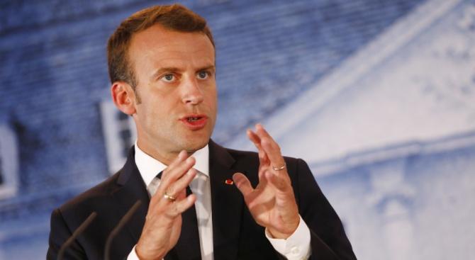 Макрон призова съюзниците да не отслабват НАТО