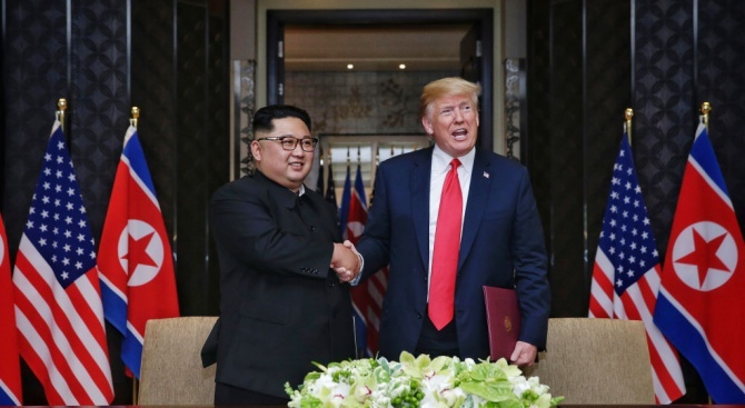 Ким Чен-ун с писмо до Тръмп