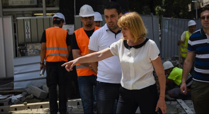 В 11.00 часа кметът на София Йорданка Фандъкова ще провери