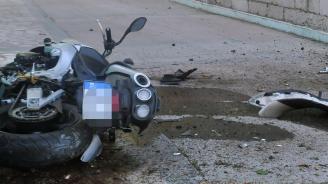 Моторист загина при катастрофа на международен булевард в Русе