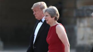Тръмп: Проектът на Мей за Брекзит ще убие вероятно сделката за свободна търговия със САЩ