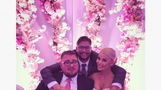 Светлана Василева и Християн Гущеров се ожениха на пищна сватба (снимки)