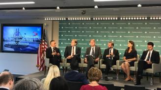 Цветан Цветанов взе участие в осмата Трансатлантическа конференция на мозъчните тръстове във Вашингтон