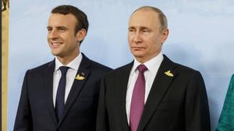Разкриха какво ще обсъдят Макрон и Путин на срещата си утре