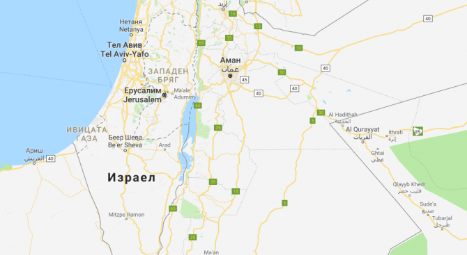 Израел бомбардира военни обекти в ивицата Газа