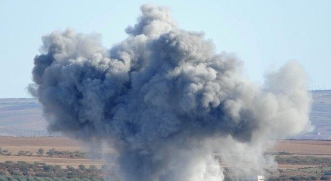 Израел нанесе ракетен удар по военна позиция в северна Сирия