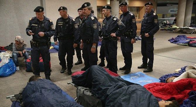 Отриха мъртви мигранти в хладилен контейнер