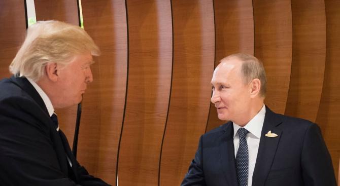 Доналд Тръмп за разговорите с Владимир Путин на четири очи: Едно добро начало