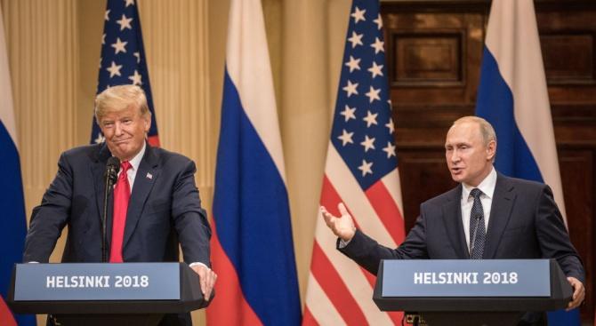 Изведоха журналист от срещата между Путин и Тръмп