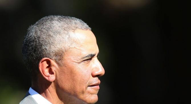 Барак Обама, първият чернокож президент на САЩ, отдаде днес почит