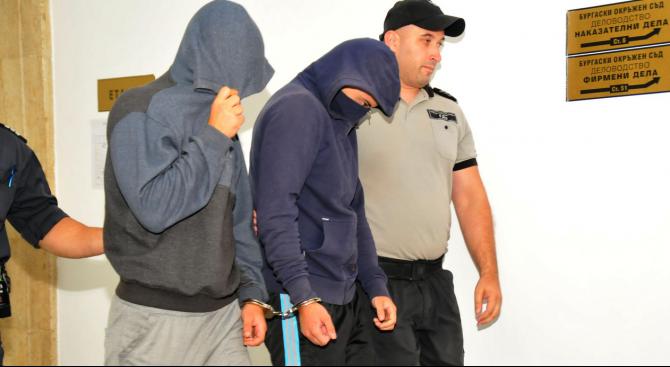 Окръжният съд в Бургас остави за постоянно в ареста Даниел