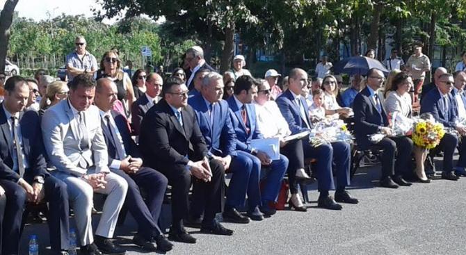 Заместник-министърът на вътрешните работи Стефан Балабанов и главният секретар на