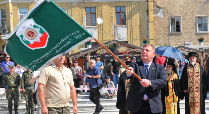 Знамето е един от символите на държавността – това каза