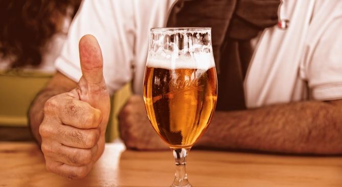 Бирата и виното са полезни за мъжете, които искат да