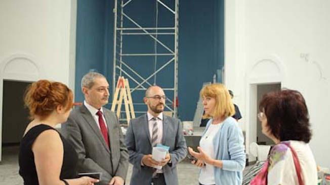 Фандъкова провери изграждането на Арменската апостолическа православна църква