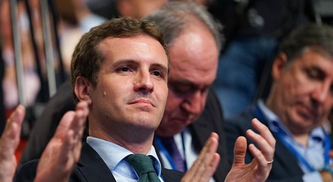 Пабло Касадо беше избран за председател на испанската Народна партия