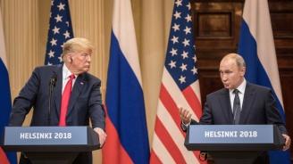 Журналисти са сигурни, че Тръмп е намигнал на Путин (снимки+видео)